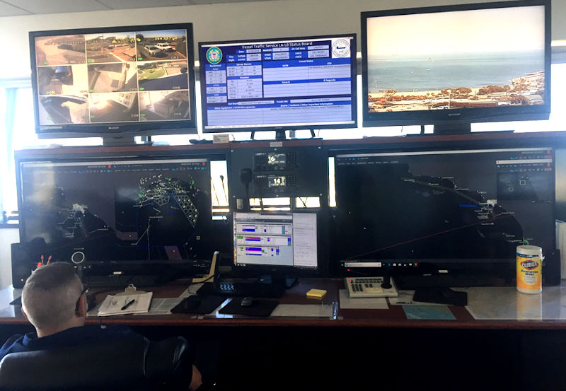 View of the Control Center